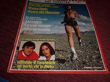 DOMENICA DEL CORRIERE 8/1986 REINHOLD MESSBER BOY GEORGE