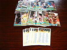 Set of 200 Topps Stadium Club Football 1992 trading cards plus promos 5 to 14