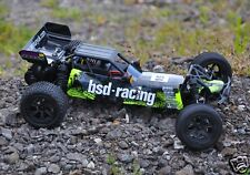 1-bs709r BSD Racing Flux Baja V2 RC davvero veloce BRUSHLESS BUGGY 1:10 TH 2.4 GHz UK