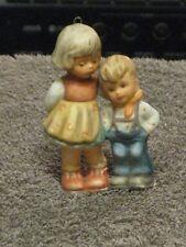 "Berta Hummel Figurine Goebel - Little Girl & Boy 1997 - Hanging Ornament 3"" Tall"