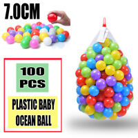 100pcs High Quality Baby Kid Pit Toy Swim Pool Fun Colorful Plastic Ocean Ball