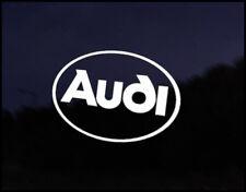 Logo De Audi coche decal sticker Audi A2 A3 A4 S3 S4 Rs3 Rs4 Tt Ttrs Tdi Quattro