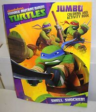 #3975 Nickelodeon Teenage Mutant Ninja Turtles Jumbo Coloring & Activity Book
