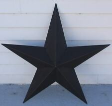 "48"" Black Star Metal Barn Texas Rustic Tin Country Primitive New"