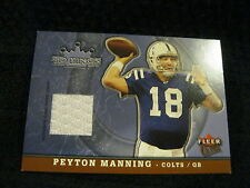 PEYTON MANNING 2005 FLEER ULTRA TD KINGS WHITE PATCH CARD-COLTS QB PATCH