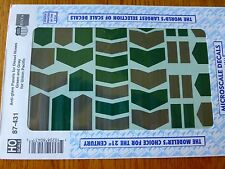 Microscale Decal HO  #87-431 Union Pacific Hood Diesel Anti-Glare Panels - Diese