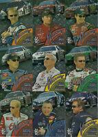 2002 Press Pass VELOCITY Complete 9 card set BV$25!! Jr, Gordon, Martin, Harvick