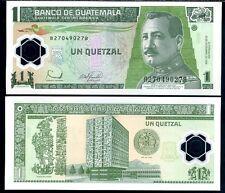 GUATEMALA 1 QUETZAL 2008 UNC P.115 POLYMER