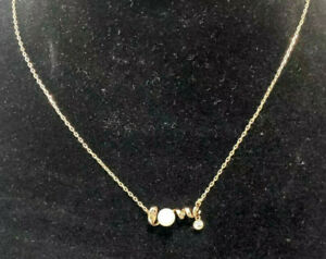MIKIMOTO Love Rose Gold Necklace with Diamond Pearl Pendant