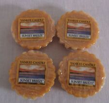 Yankee Candle SUNSET  BREEZE LOT OF (4)  TARTS WAX MELTS
