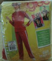 Adult Halloween Costume - Glee SUE Red Track Suit - BRAND NEW IN PACKAGE