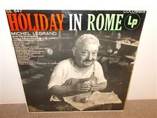 * Michel Legrand . Holiday in Rome . 1955 Columbia . LP