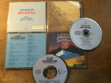 Mike Oldfield [2 CD Alben BLUE West Germany]  Five Miles Out + Music Wonderland