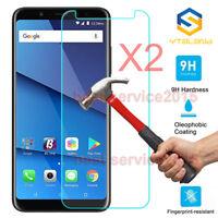 2Pcs 9H+ Premium Tempered Glass Cover Screen Protector For BLU Vivo XL3 XL3 Plus