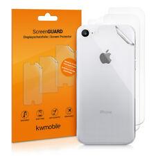 3x Schutz Folie Rückseite für Apple iPhone 8 Hinten Handy Klar Kratzfest