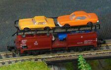 DB Car transporter with 4 cars    by MINITRIX    N Gauge   (1)
