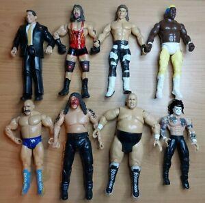 WWF TNA WCW Jakks Wrestling Action Figure Bundle - Bundy Adam Bomb Vampiro Abyss