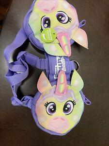 NEW Outward Hound Dog Pal Pak Harness Unicorn Small Pick Up Storage Pockets