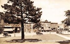 Grundy Center Iowa~Main Street~Concession~Ralph Wells Car~Oxford Cafe~1927 RPPC
