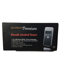 Alcomate Premium Breath Alcohol Tester No Calibration Dot Approved