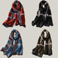 Silk Scarf Woman 2020 New Fashion Luxury Brand Scarves Long Ladies Shawls Wraps