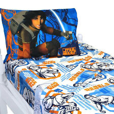 Disney Star Wars Rebels Boys 3 pcs Microfiber Twin Sheet Set Sheets & Pillowcase