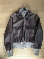 Giorgio Brato Lederjacke Leatherjacket