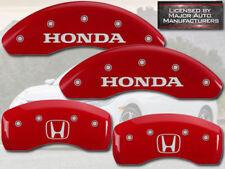 "2011-2016 ""Honda"" CRZ CR-Z Front + Rear Red MGP Brake Disc Caliper Covers ""H"""