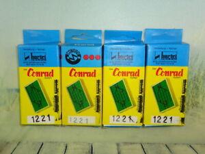 5 Conrad / HARTEL Modellgleis Weichenantriebe OVP