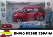 1/43 FIAT 500L 500 L NUEVO COCHE DE METAL A ESCALA COLECCION DIE CAST LICENCIA