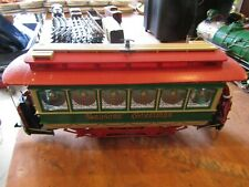 G GAUGE - North Pole & Southern Caboose-by Bachmann-used