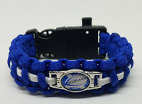 6 Nations Scotland Rugby Badged Survival Bracelet by Tactical Edge.