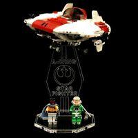 Acryl Display Stand Acrylglas Standfuss für LEGO 75175 A-Wing Starfighter