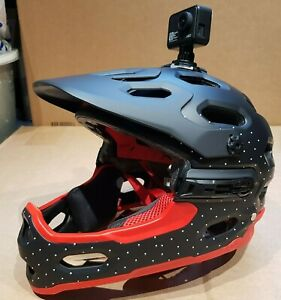 Bell Super 3R MIPS Detachable Chinbar Full Face Helmet Crimson Large LAST ONE