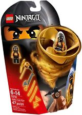 Lego Ninjago Spinjitzu 70741 Black Ninja Cole Masters of Spinjitzu flyers BNIB