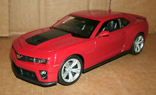 1/24 Scale Chevrolet Camaro ZL1 Diecast Model 2012-2015 Red Coupe - Welly 22087