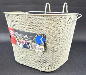 BELL Tote 510 Handlebar Bike Basket (Gray) Metal