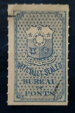PHILIPPINES STAMP Official Seal Bureau of Post used hinged