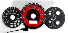RED Glow Carbon Fiber Gauge For 02-05 Honda Civic Si EP3 Instrument Cluster JDM