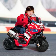 Kindermotorrad Elektro Kinder Motorrad Ducati Desmosedici 2014 ED0919 Peg Perego