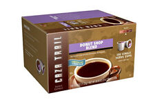 Caza Trail Coffee, Donut Shop Blend, 100 Single Serve Cups