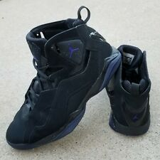 Men's Air Jordan True Flight Black Concord Basketball Shoes 342964-021 Size 11.5