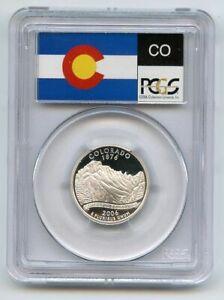 2006 S 25C Silver Colorado Quarter PCGS PR70DCAM