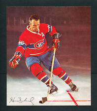 1966 GENERAL MILLS CEREAL HOCKEY NHL PHOTO HENRI RICHARD MONTREAL canadiens
