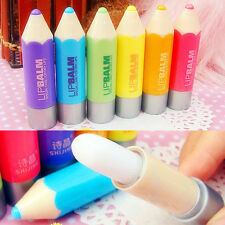 Anti-cracking Moisturizing Natural Plant Pencil Shape Lip Balm Lip Gloss .AU