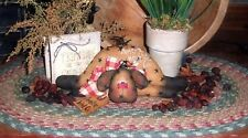Primitive American Sheep Stitchery Doll Paper Pattern #123