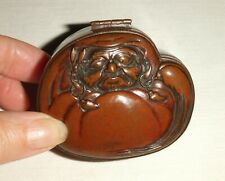 Oriental Antique Japanese Decorative Copper & Brass/Bronze Snuff Box