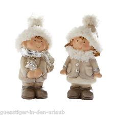 Niedliche Dekofiguren Lilly & Billy Weihnachten Weihnachtsdeko Tischdeko Deko