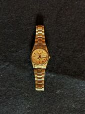 Vintage Seiko S3 Watch, Gold Plated Band, Quartz Dial