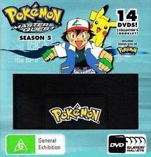 POKEMON 5 = Super Wallet =Fifth Season=NEW 14 DVD R4